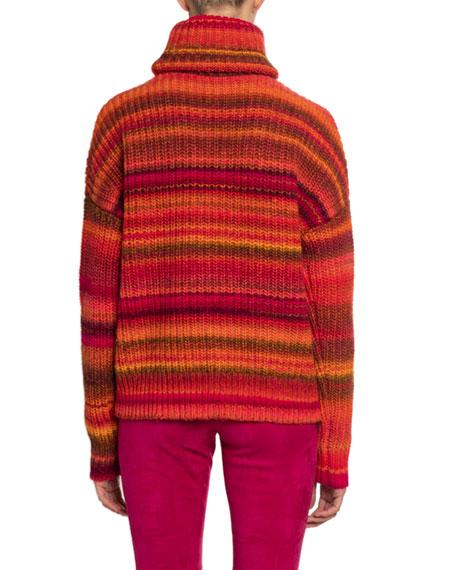Altuzarra Striped Turtleneck Sweater