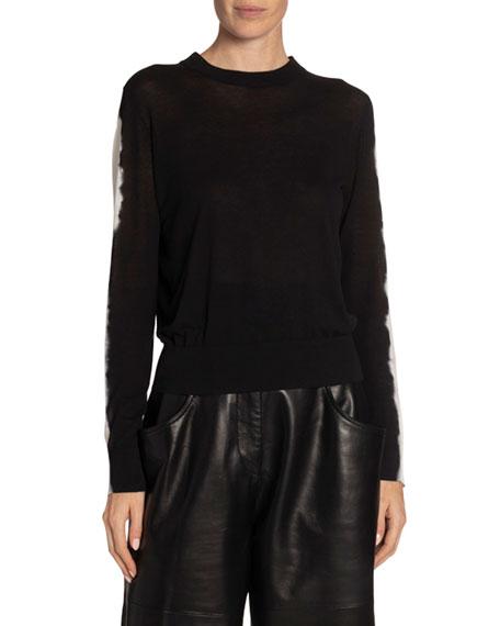 Proenza Schouler Tie-Dye Crewneck Sweater