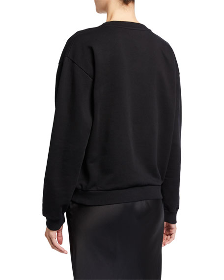 Givenchy Crewneck Logo Sweatshirt