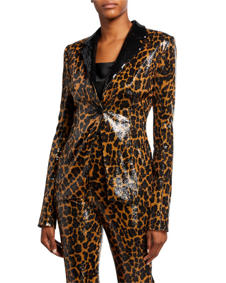 Pamella Roland Sequin-Embroidered Jacket