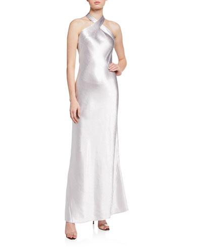 Metallic Eve Dress