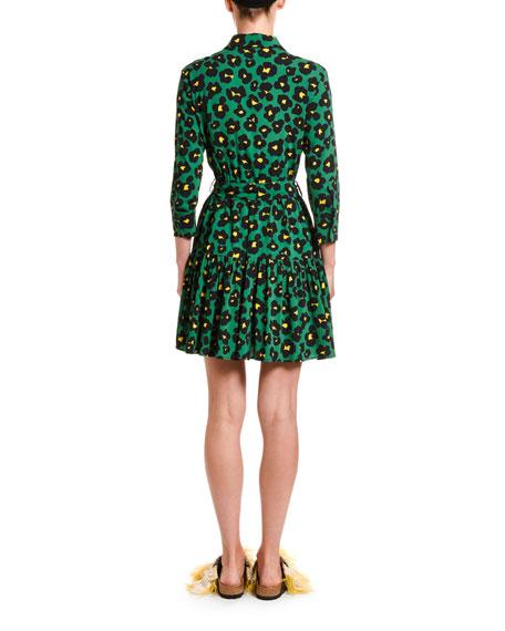 Double J Animal Print Short Bellini Dress