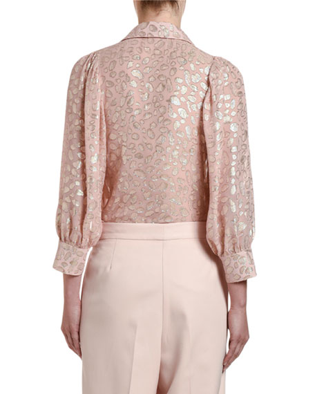 Image 2 of 3: Stella McCartney Long-Sleeve Button-Front Shirt