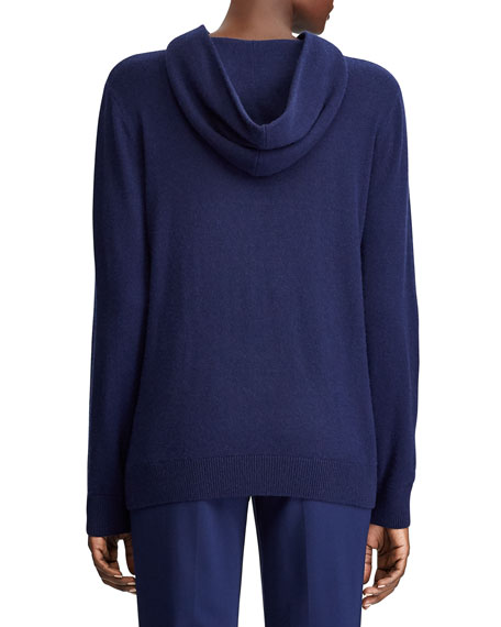 Image 2 of 3: Ralph Lauren Collection Cashmere Hooded Sweater