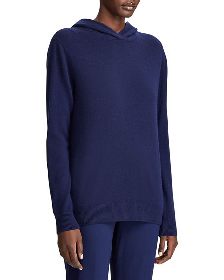 Image 3 of 3: Ralph Lauren Collection Cashmere Hooded Sweater