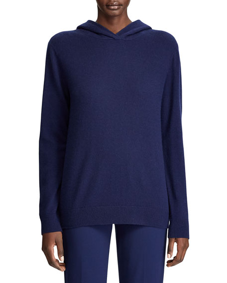 Image 1 of 3: Ralph Lauren Collection Cashmere Hooded Sweater