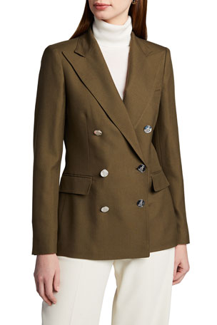 Ralph Lauren Collection Camden Cashmere Double-Breasted Jacket
