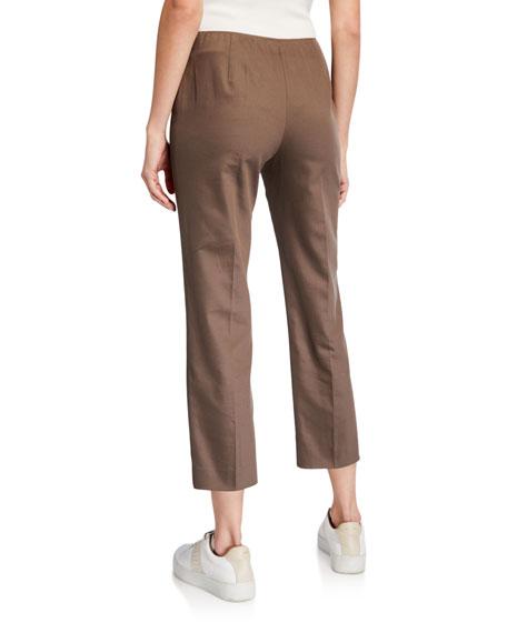 Agnona Cotton Slim Capri Pants