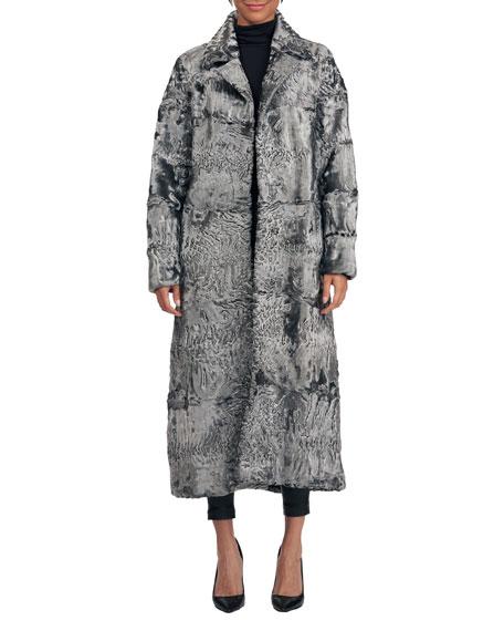 Pajaro Lamb Fur Short Coat