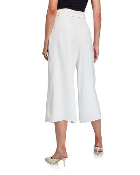 ADEAM Crepe Belted Culottes