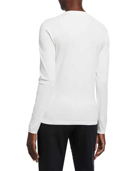 Maxmara Livorno Jersey Long-Sleeve Top
