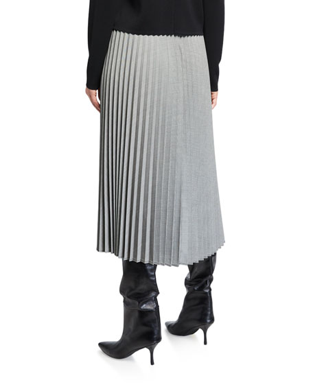 Maxmara Novella Crepe Pleated Cardigan