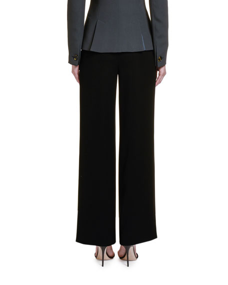 Giorgio Armani High-Rise Wide-Leg Trousers