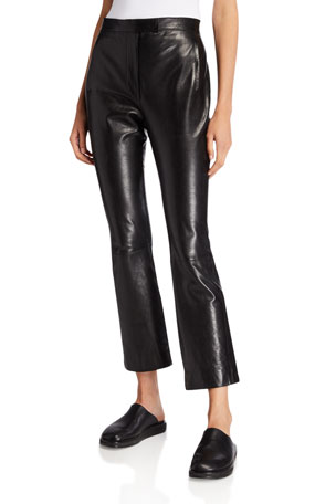 THE ROW Jonelle Leather Pants $1464.00