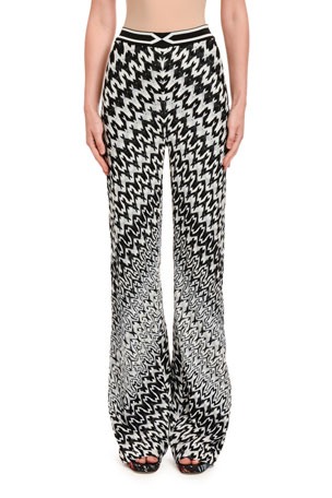 Missoni Chevron Optical Knit Pants