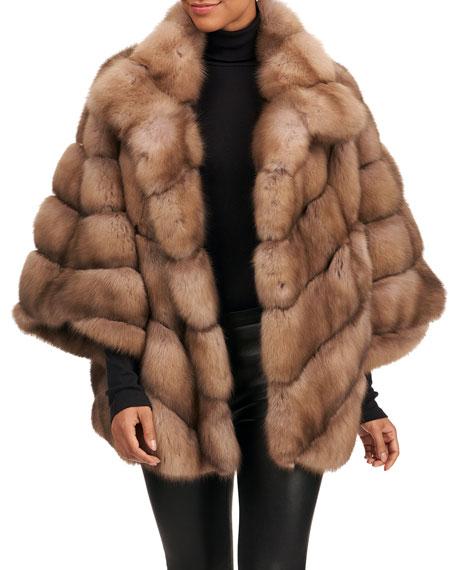 Pajaro Russian Sable Fur Jacket