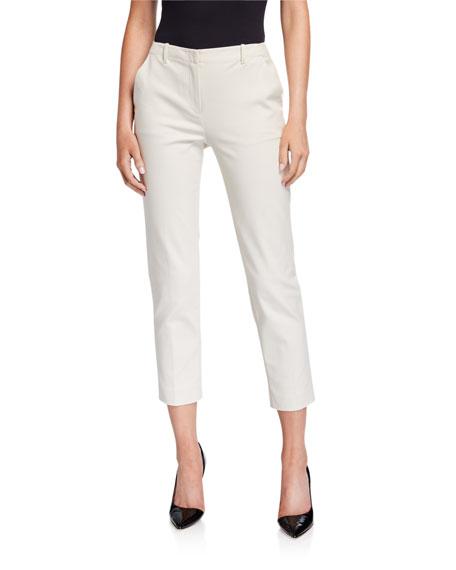 Emporio Armani Slim Stretch Cotton Pants