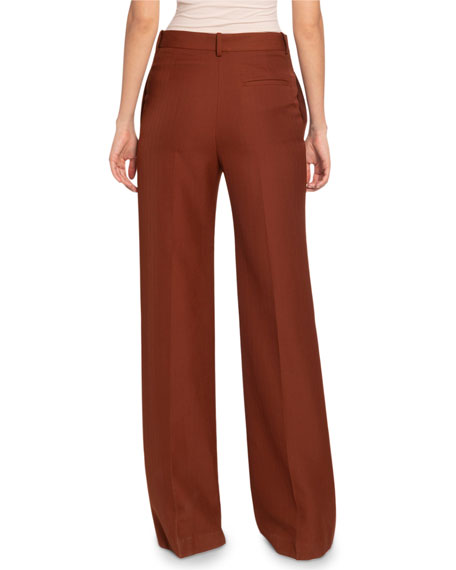 Image 2 of 2: Victoria Beckham  Wide-Leg Trousers