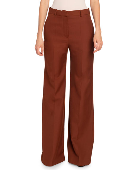 Image 1 of 2: Victoria Beckham  Wide-Leg Trousers