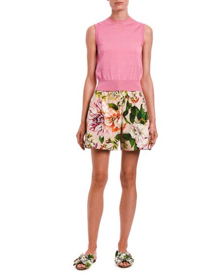 Dolce & Gabbana Sleeveless Knit Shell