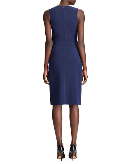 Image 2 of 3: Ralph Lauren Collection Cora Sleeveless Cocktail Dress