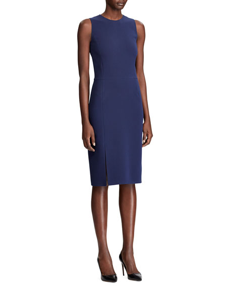 Image 3 of 3: Ralph Lauren Collection Cora Sleeveless Cocktail Dress