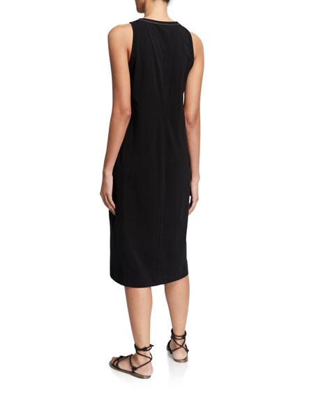 Brunello Cucinelli Monili-Neck Jersey Tank Dress
