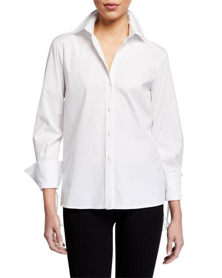 Carolina Herrera Drop-Shoulder Shirt
