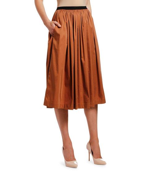Antonio Marras Shirred-Waist Skirt