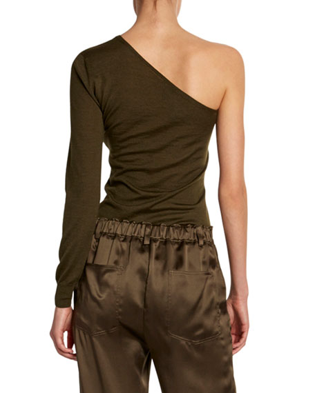 TOM FORD Cashmere-Silk Asymmetric Sweater
