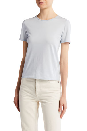 THE ROW Leah Cotton T-Shirt