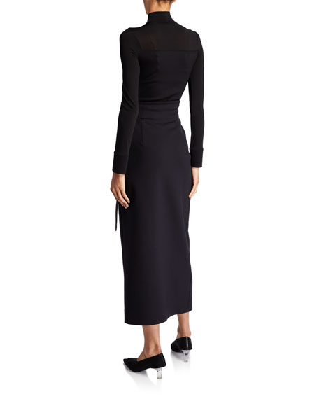 THE ROW Ogechi Wrapped Maxi Skirt