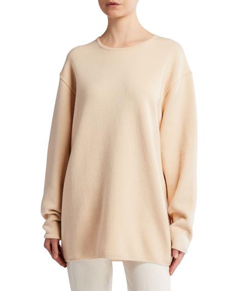 THE ROW Cohan Merino-Cashmere Oversized Sweater