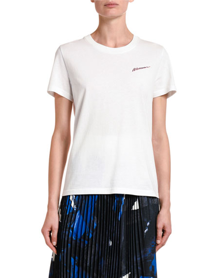 Off-White Casual Woman Graphic Tee