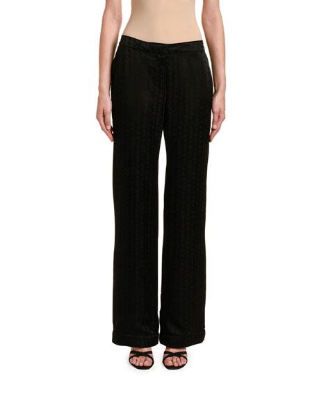 Off-White Logo Jacquard Pajama Pants