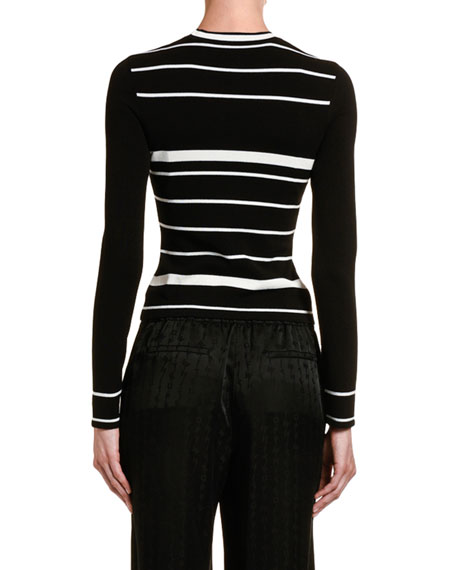 Off-White Knit Basic Arrow Top