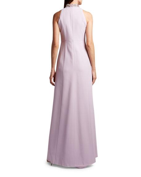 Andrew Gn Sleeveless High-Neck Dress
