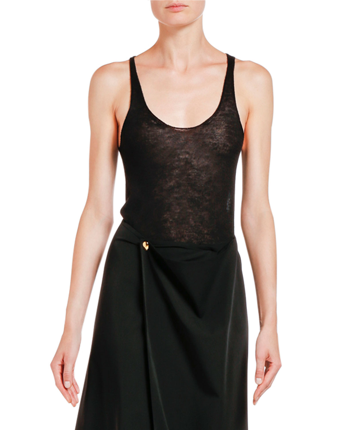 Bottega Veneta Cashmere Scoop-Neck Camisole