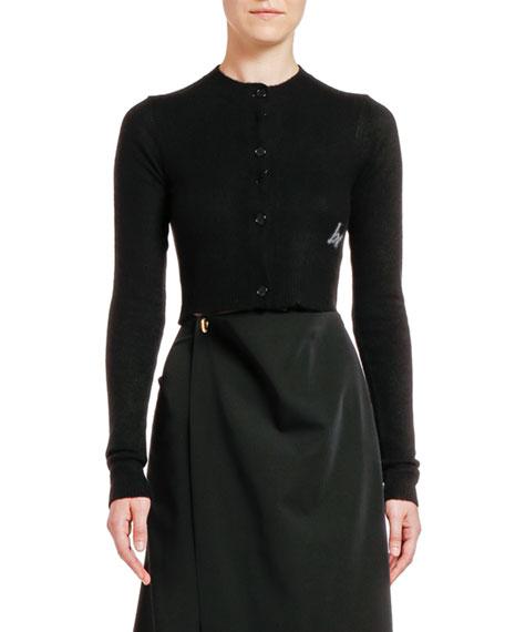 Bottega Veneta Cashmere Button-Front Cardigan