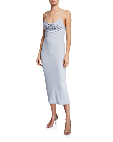 CUSHNIE Sleeveless Pencil Dress