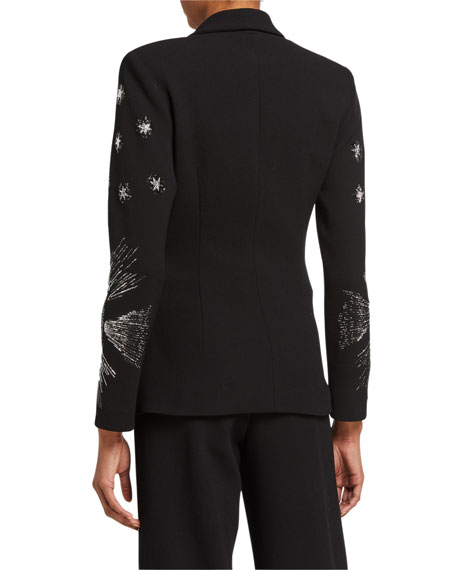 Image 2 of 2: Libertine Star-Sleeve Wrap Jacket