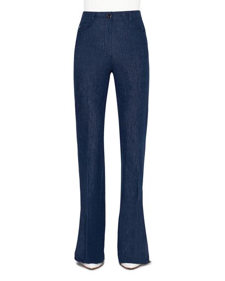 Akris Farid Straight-Leg Jeans