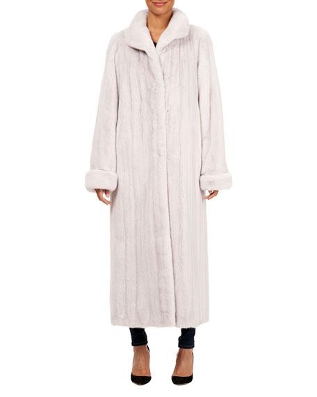 Gorski Reversible Mink Fur Car Coat