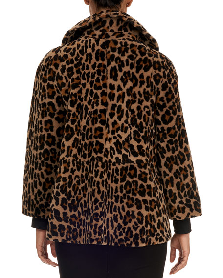 Image 2 of 5: Michael Kors Collection Reversible Shearling Jacket