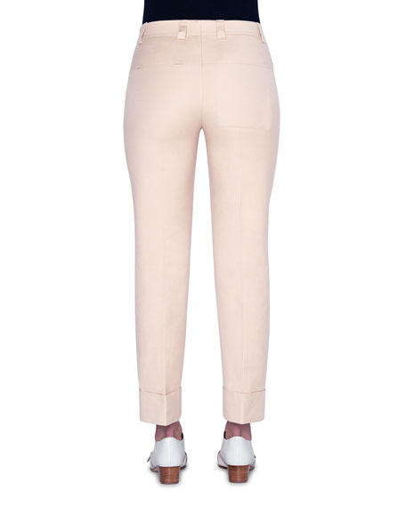 Akris Cuffed Slim-Leg Pants