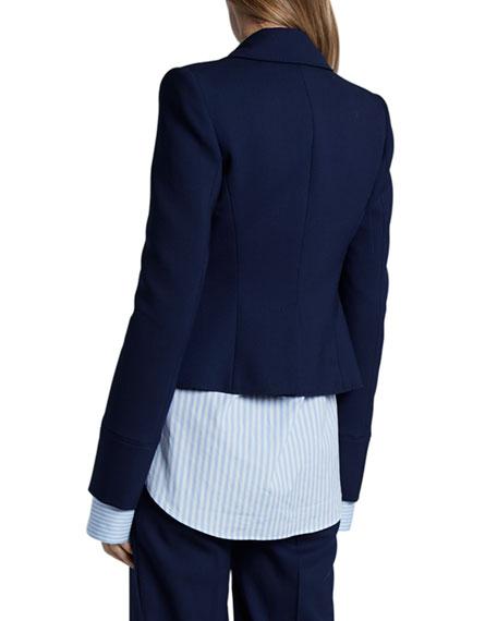 Altuzarra Bowden Stretch-Wool Blazer Jacket
