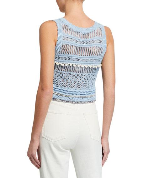 Altuzarra Betulaa Crocheted Sleeveless Sweater