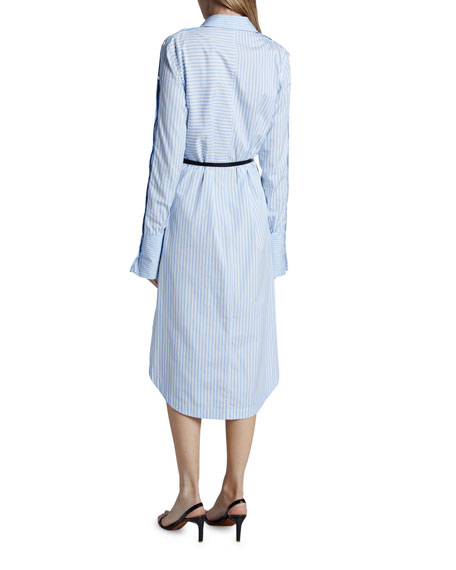 Altuzarra Aster Cotton Long-Sleeve Dress