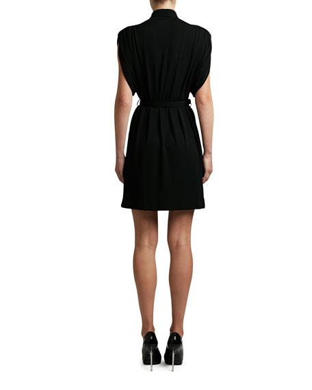 Versace Jersey Dolman Sleeve Shirtdress