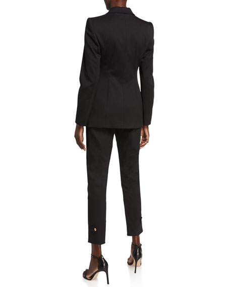Escada Bick Cotton Twill Classic Jacket